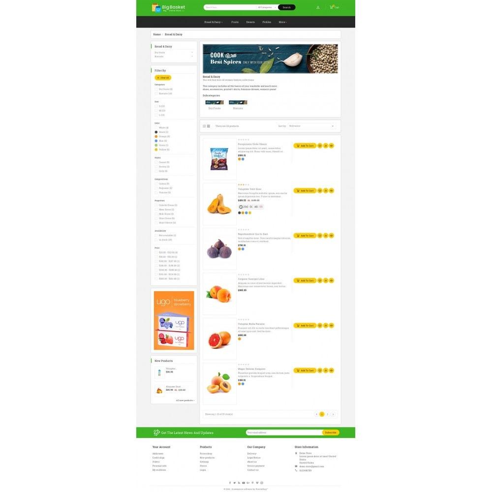 theme - Lebensmittel & Restaurants - Big Basket Mega Grocery - 5