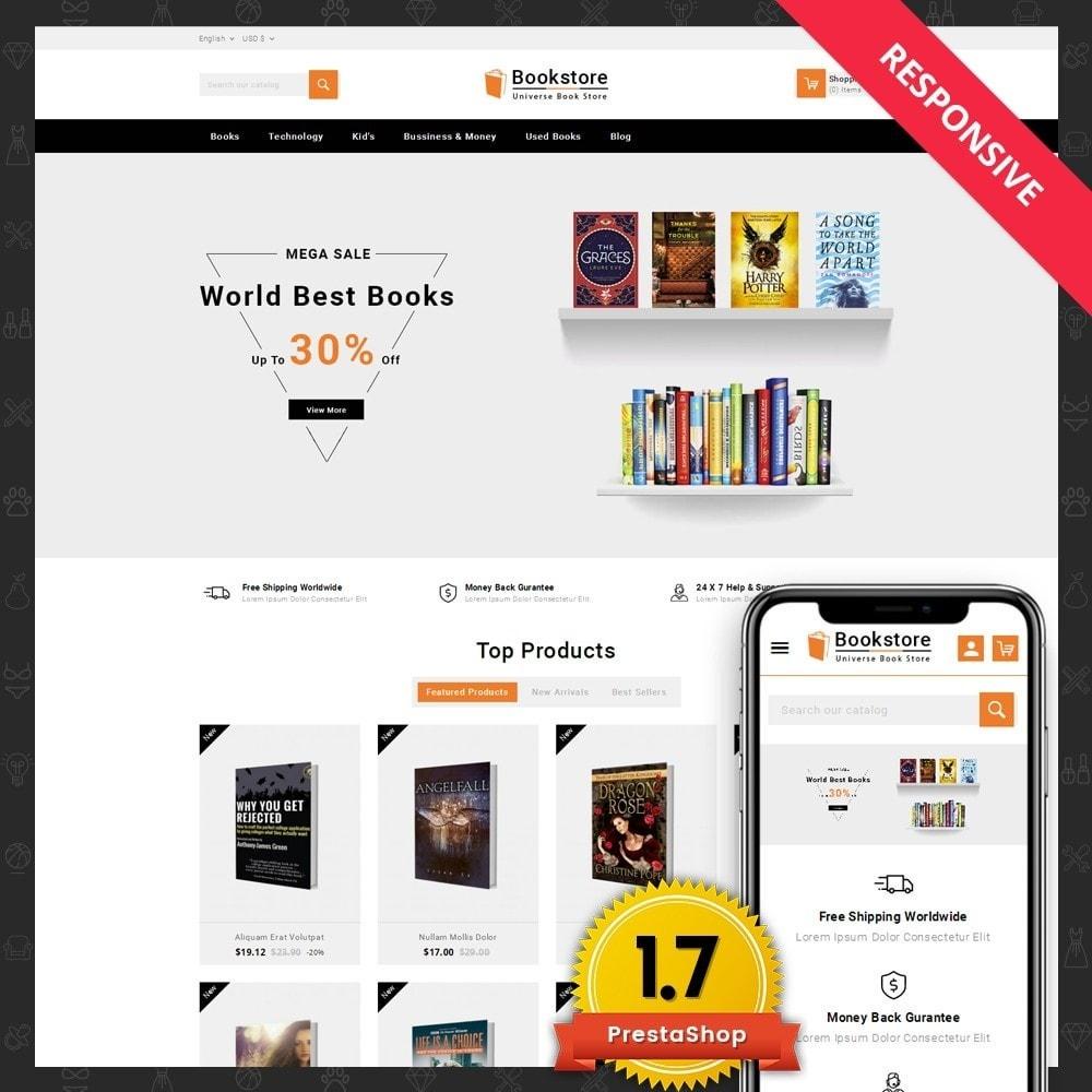 theme - Kultura & Sztuka - Universe Books Store - 1