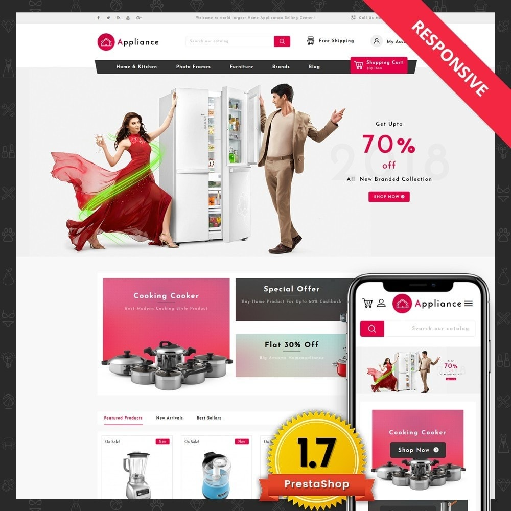 theme - Dom & Ogród - Home Appliances Store - 1