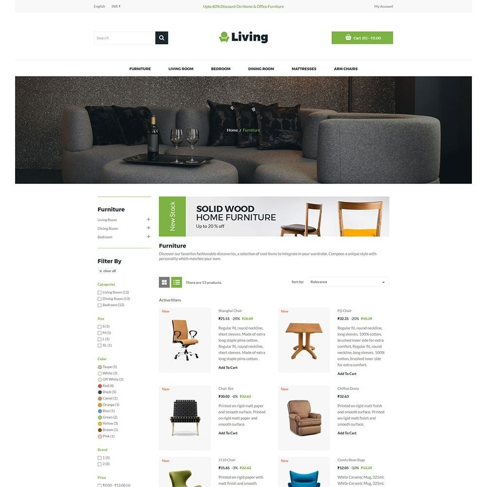 theme - Heim & Garten - Living - Furniture Store - 4