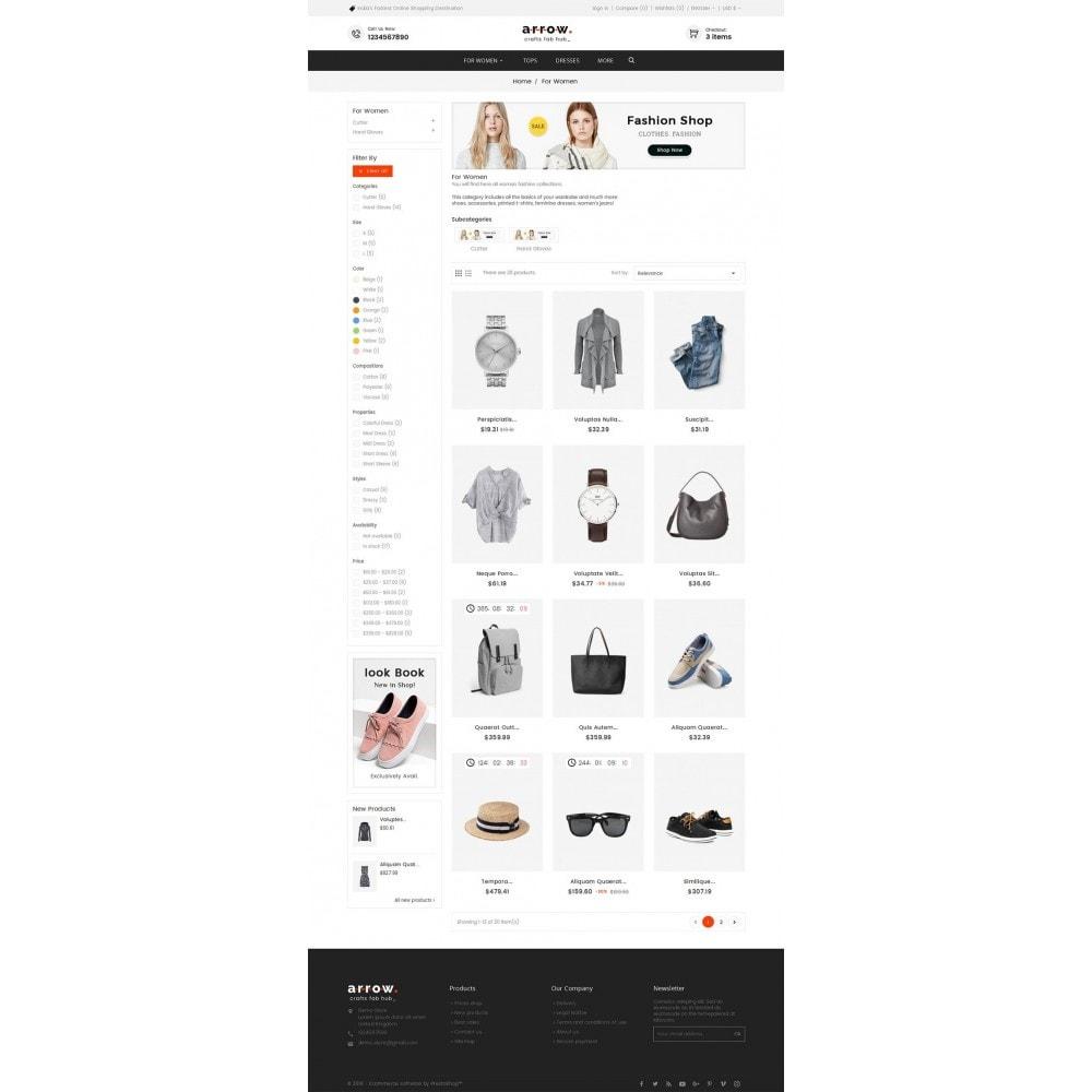 theme - Mode & Chaussures - Arrow Fashion Apparels - 4