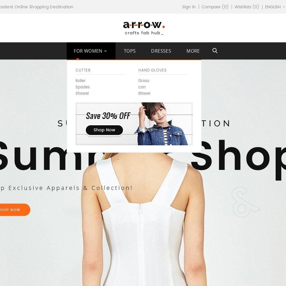 theme - Moda y Calzado - Arrow Fashion Apparels - 10
