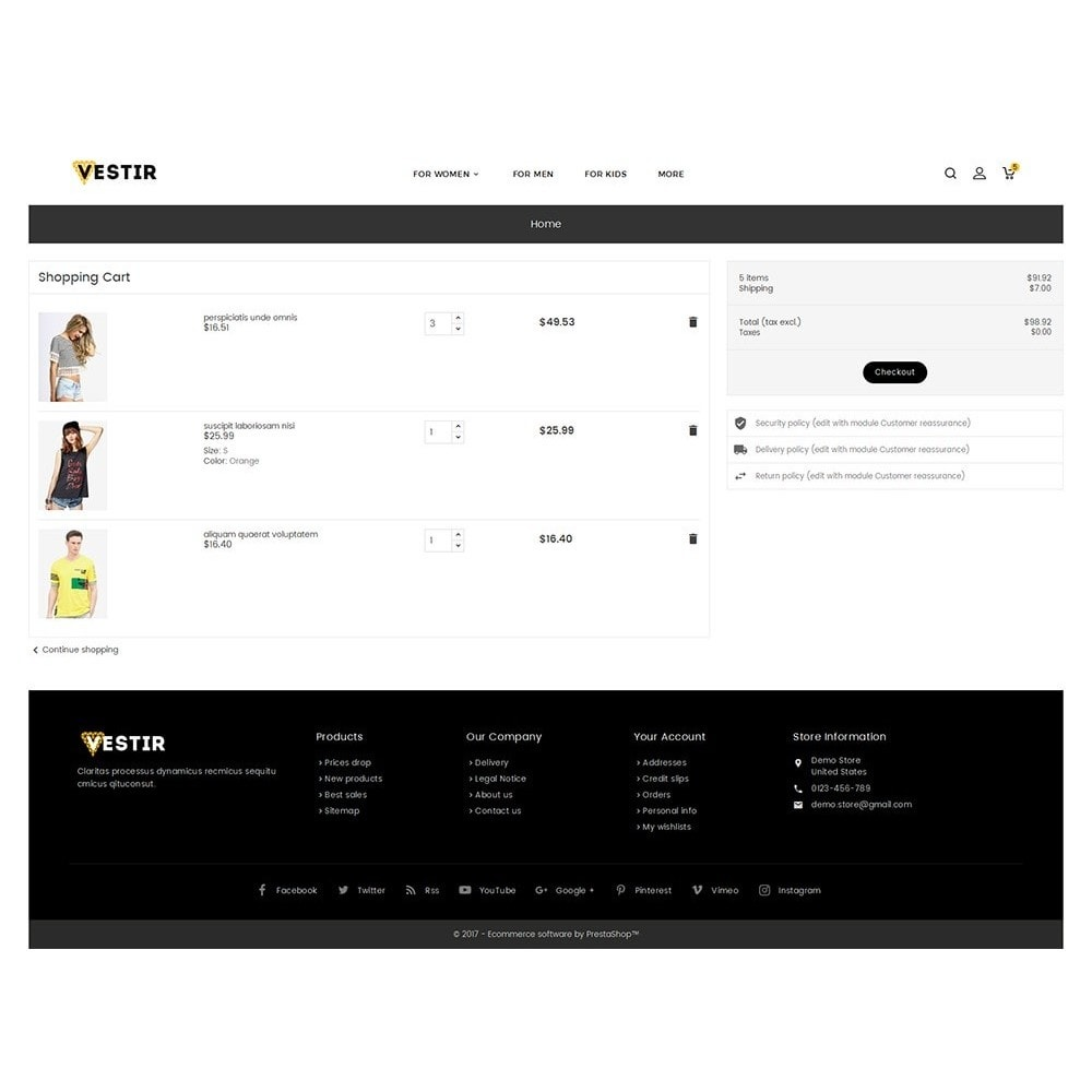 theme - Moda y Calzado - Vestir Fashion Catalog - 7