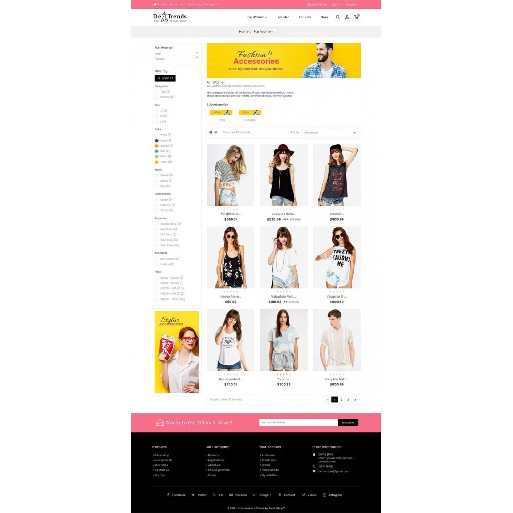 theme - Moda & Calzature - Trends Fashion Store - 4