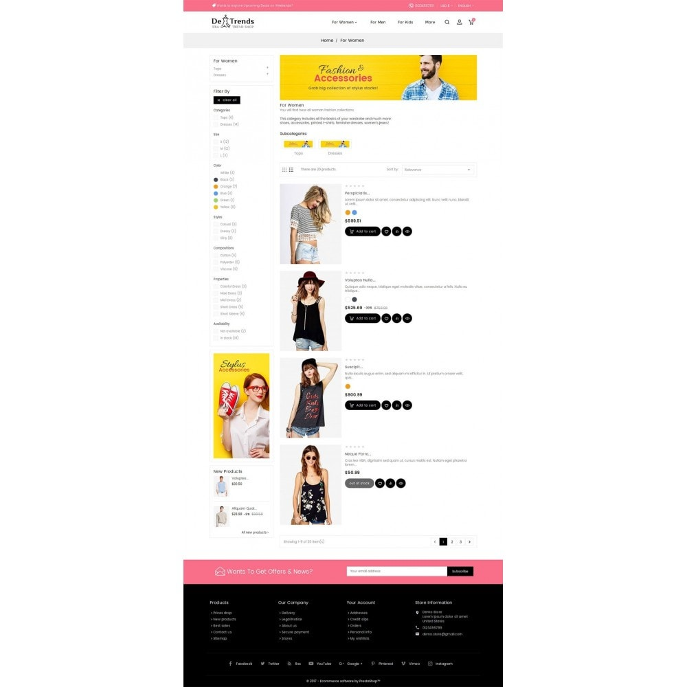 theme - Moda & Calzature - Trends Fashion Store - 5