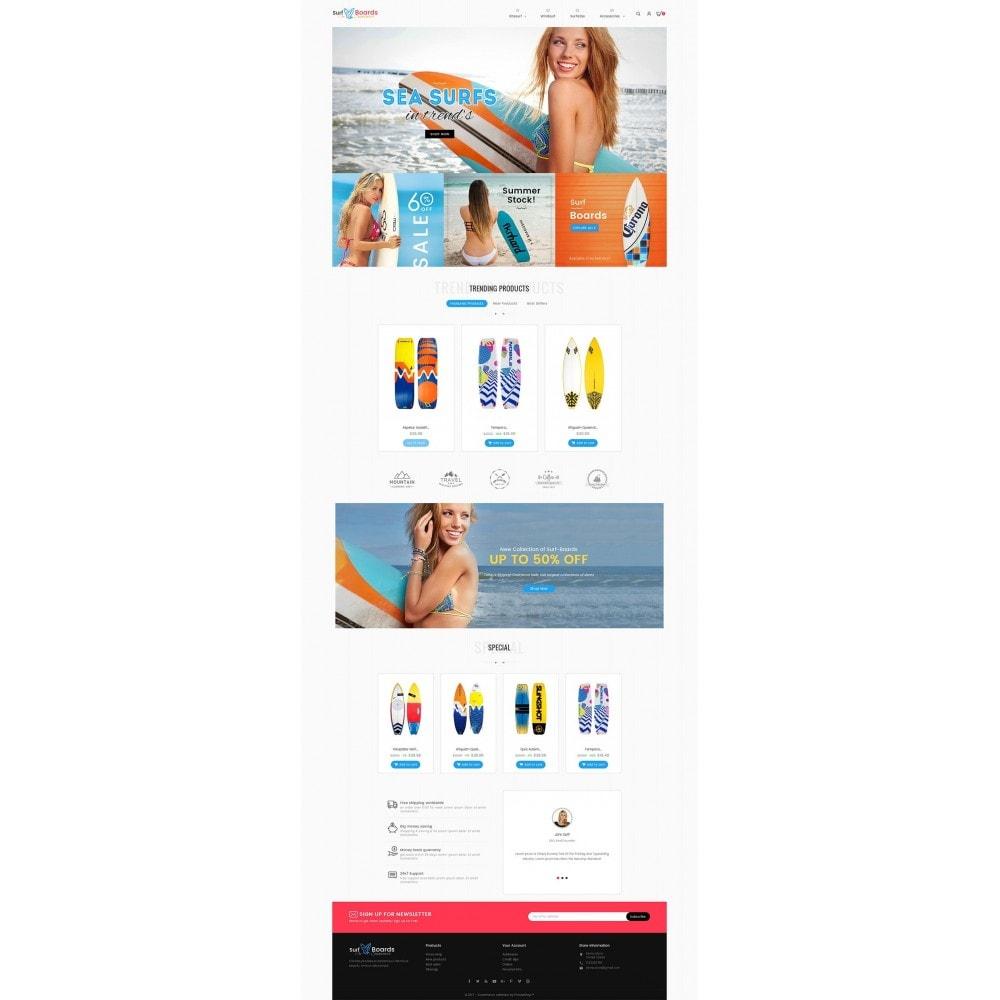 theme - Deportes, Actividades y Viajes - Surf Summer Beach - 3