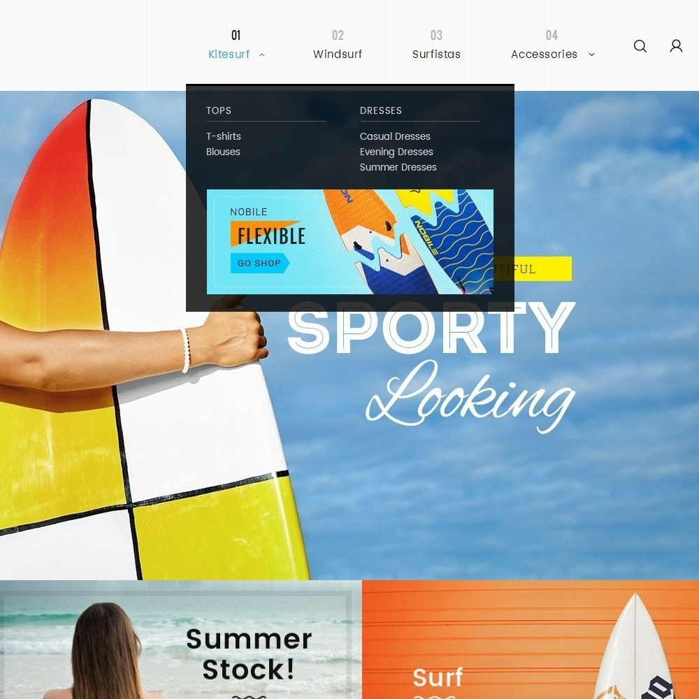 theme - Sport, Attività & Viaggi - Surf Summer Beach - 11