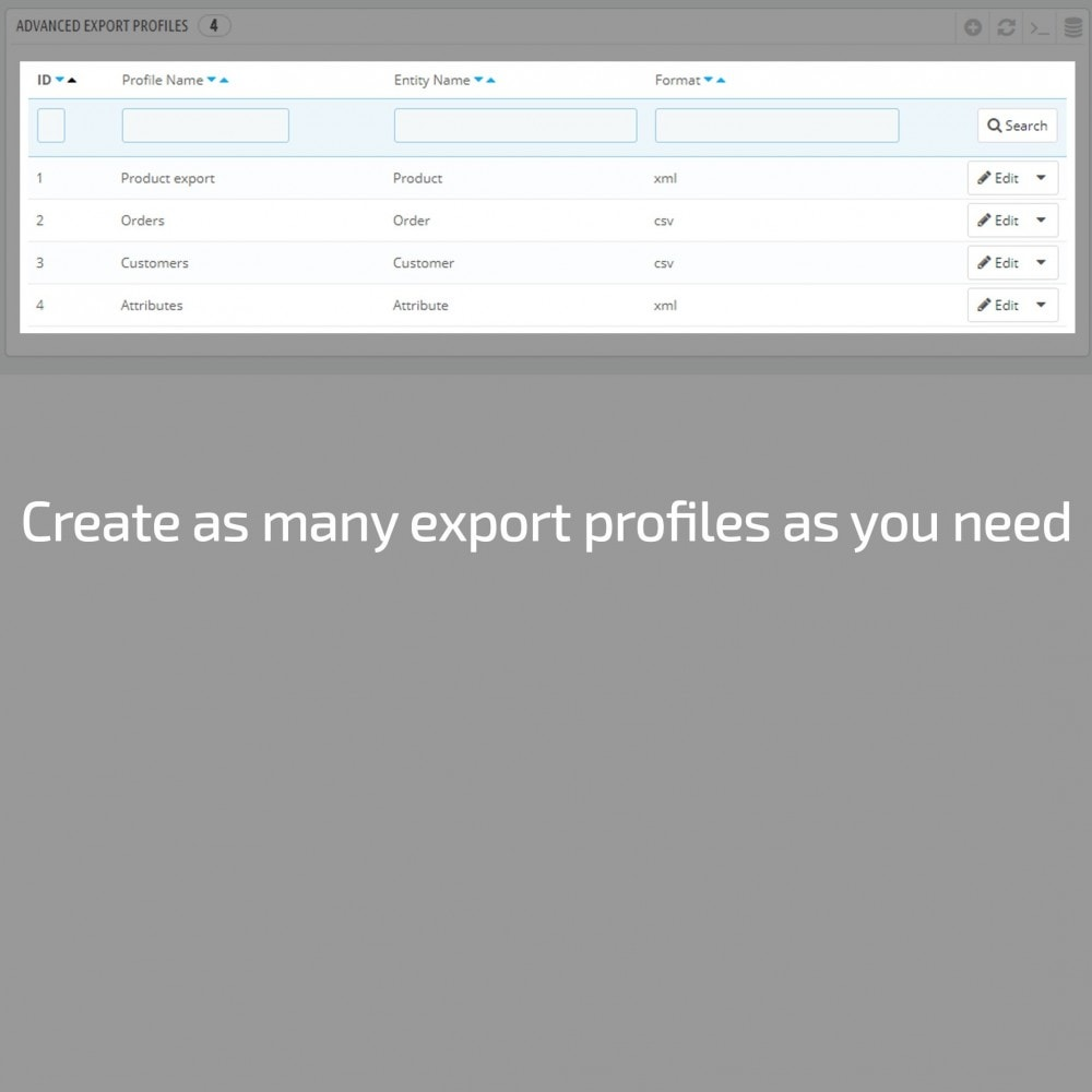 module - Data Import & Export - Advanced Export All in One - 1
