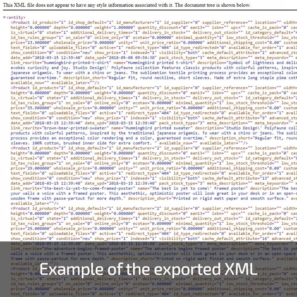 module - Importación y Exportación de datos - Advanced Export All in One - 7