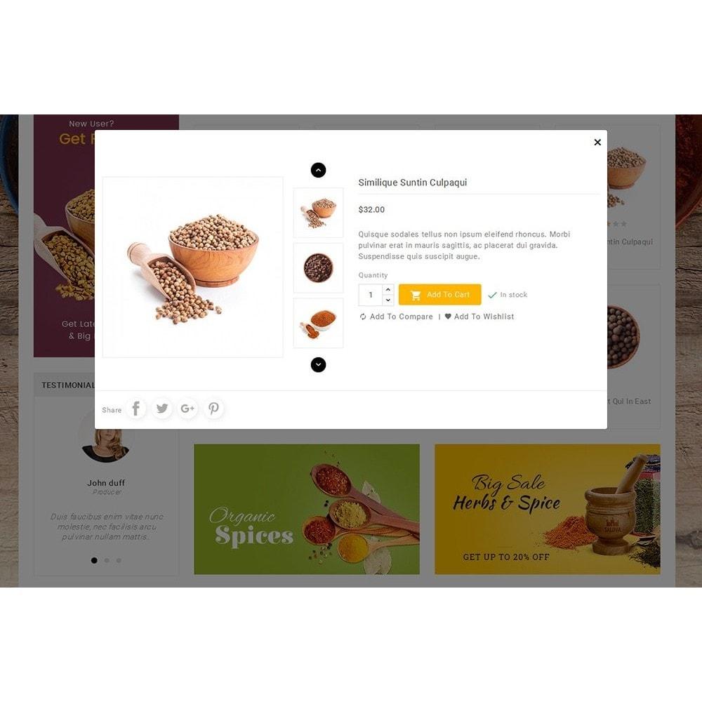 theme - Gastronomía y Restauración - Spices Mega Store - 9