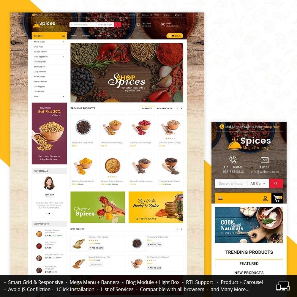 theme - Cibo & Ristorazione - Spices Mega Store - 2