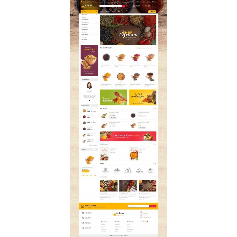theme - Cibo & Ristorazione - Spices Mega Store - 3