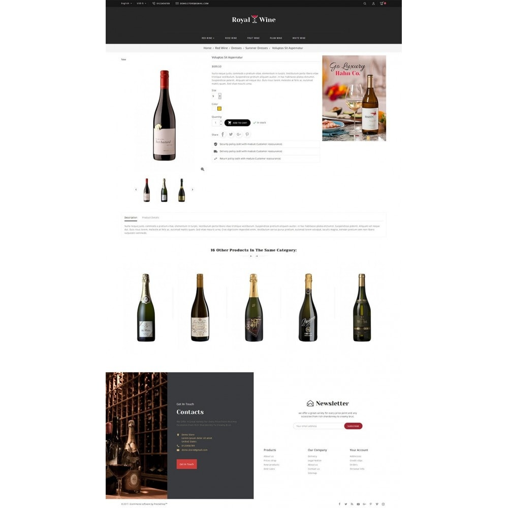 theme - Boissons & Tabac - Royal Wine - 6