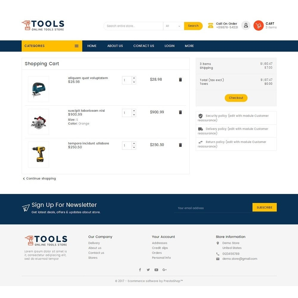 theme - Electronique & High Tech - Mega Tools Store - 7