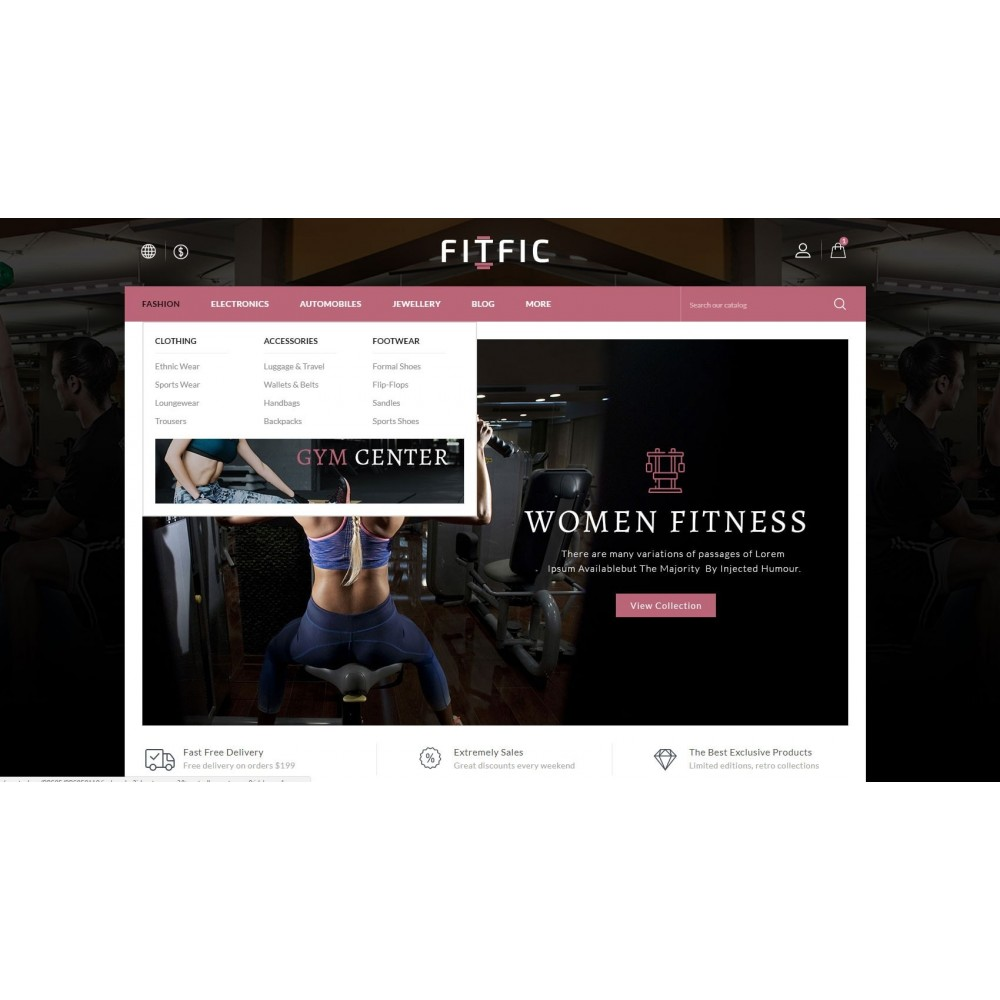 theme - Health & Beauty - FitFic - Fitness Store - 8