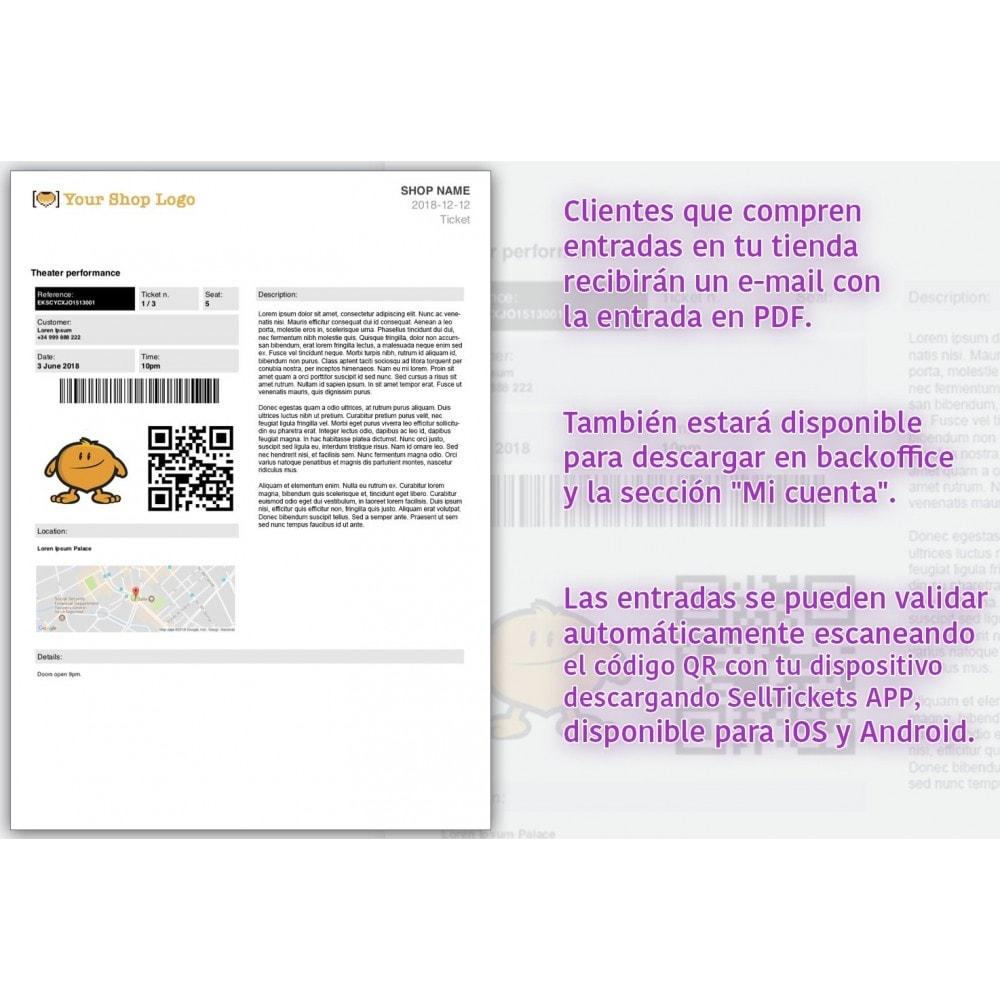 """module - Web de Reservas y Alquiler - Venta de tickets/entradas """"SellTickets"""" - 4"""