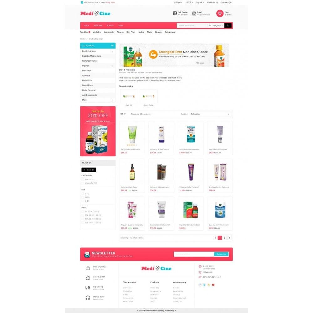 theme - Salud y Belleza - Medicine Mega Store - 4