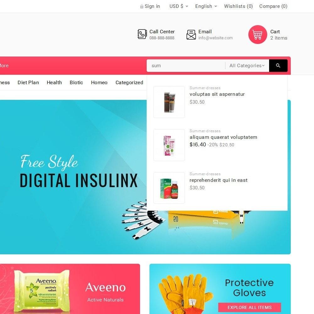 theme - Salute & Bellezza - Medicine Mega Store - 11