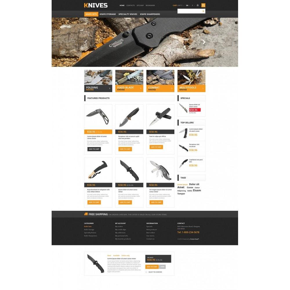 theme - Шаблоны PrestaShop - Responsive Knives Store - 2