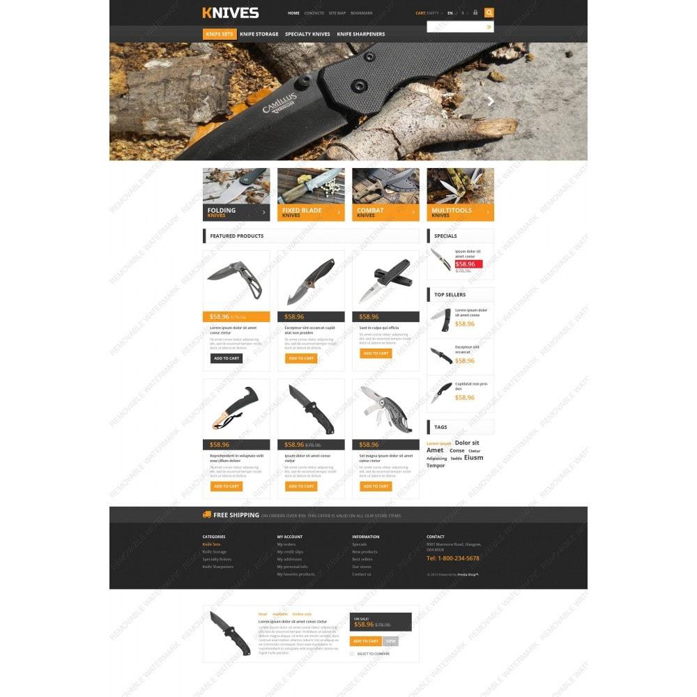 theme - Шаблоны PrestaShop - Responsive Knives Store - 5