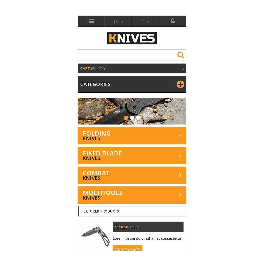 theme - Template PrestaShop - Responsive Knives Store - 8