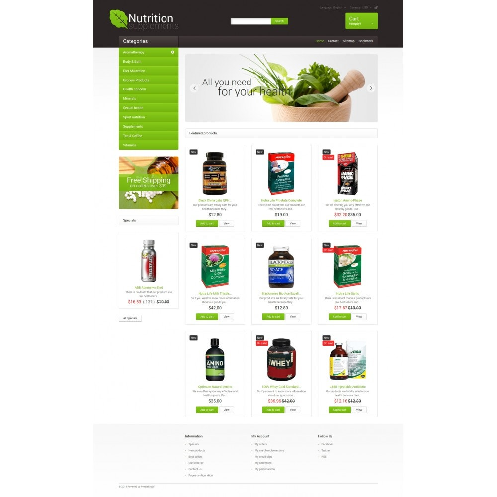 theme - Health & Beauty - Nutrition Supplements - 4