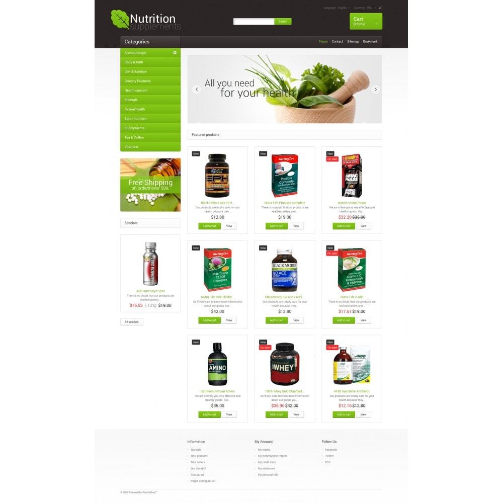 theme - Здоровье и красота - Nutrition Supplements - 4