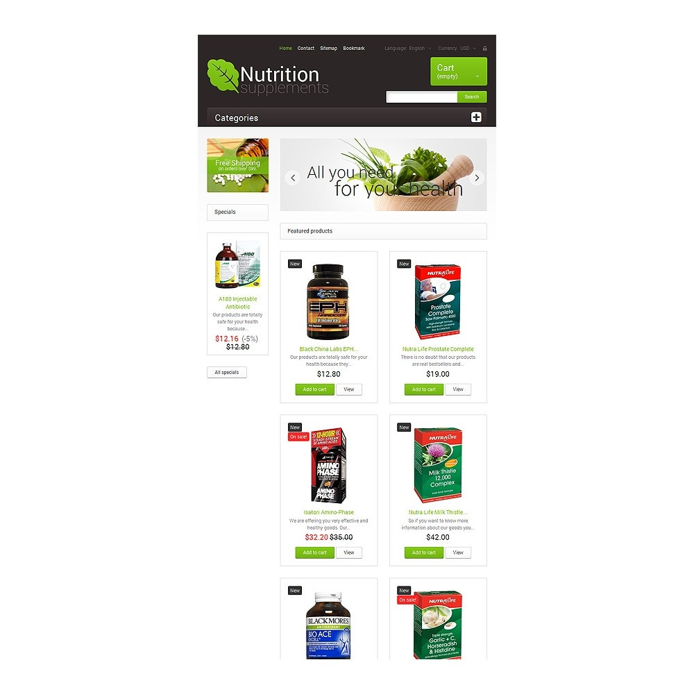 theme - Health & Beauty - Nutrition Supplements - 7