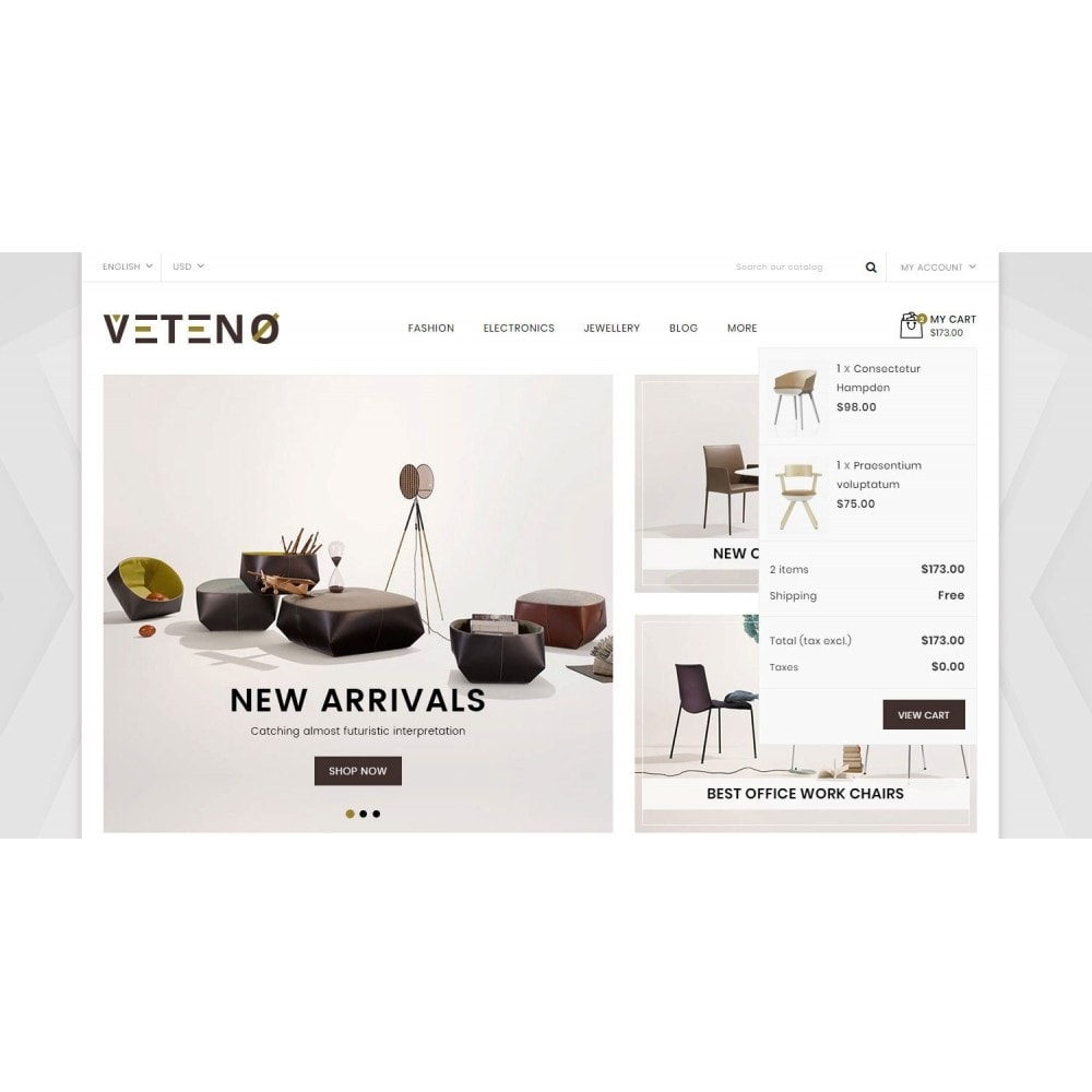 theme - Dom & Ogród - Veteno - Furniture Store - 6