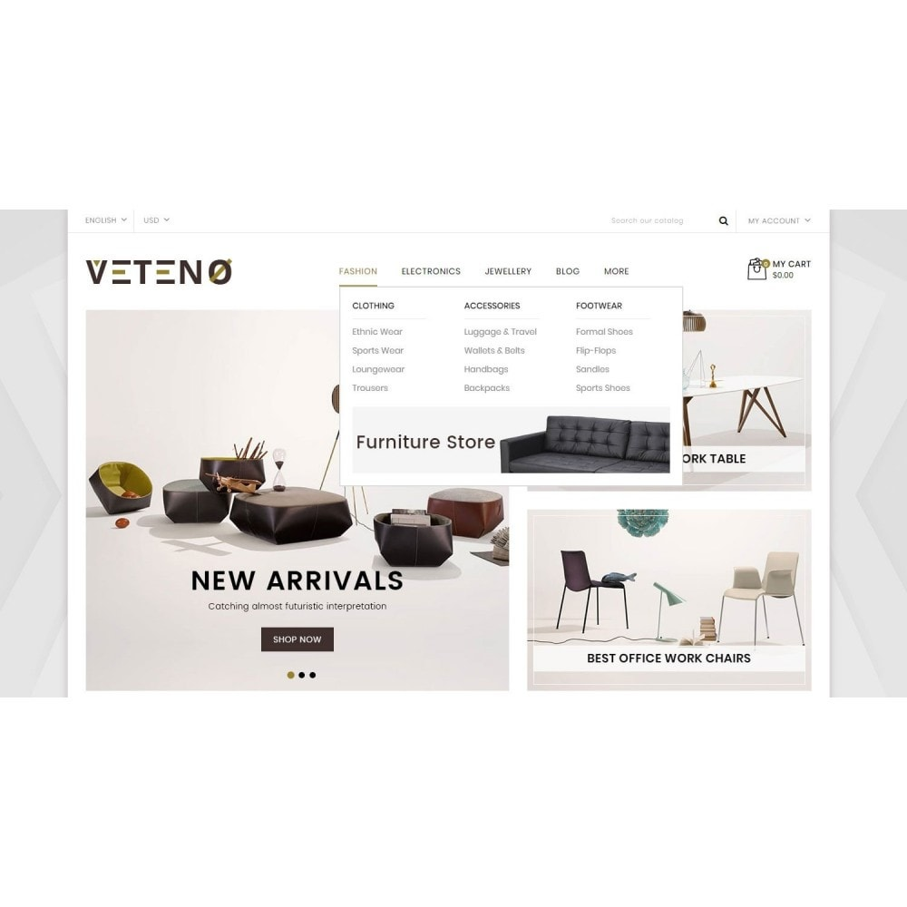 theme - Dom & Ogród - Veteno - Furniture Store - 8