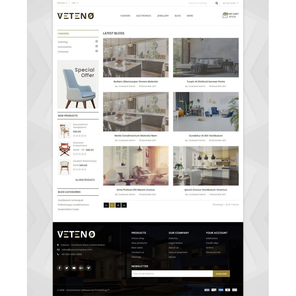 theme - Dom & Ogród - Veteno - Furniture Store - 9