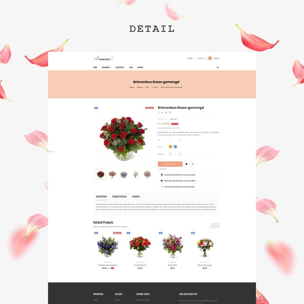 theme - Gifts, Flowers & Celebrations - Leo Aromatic - 6