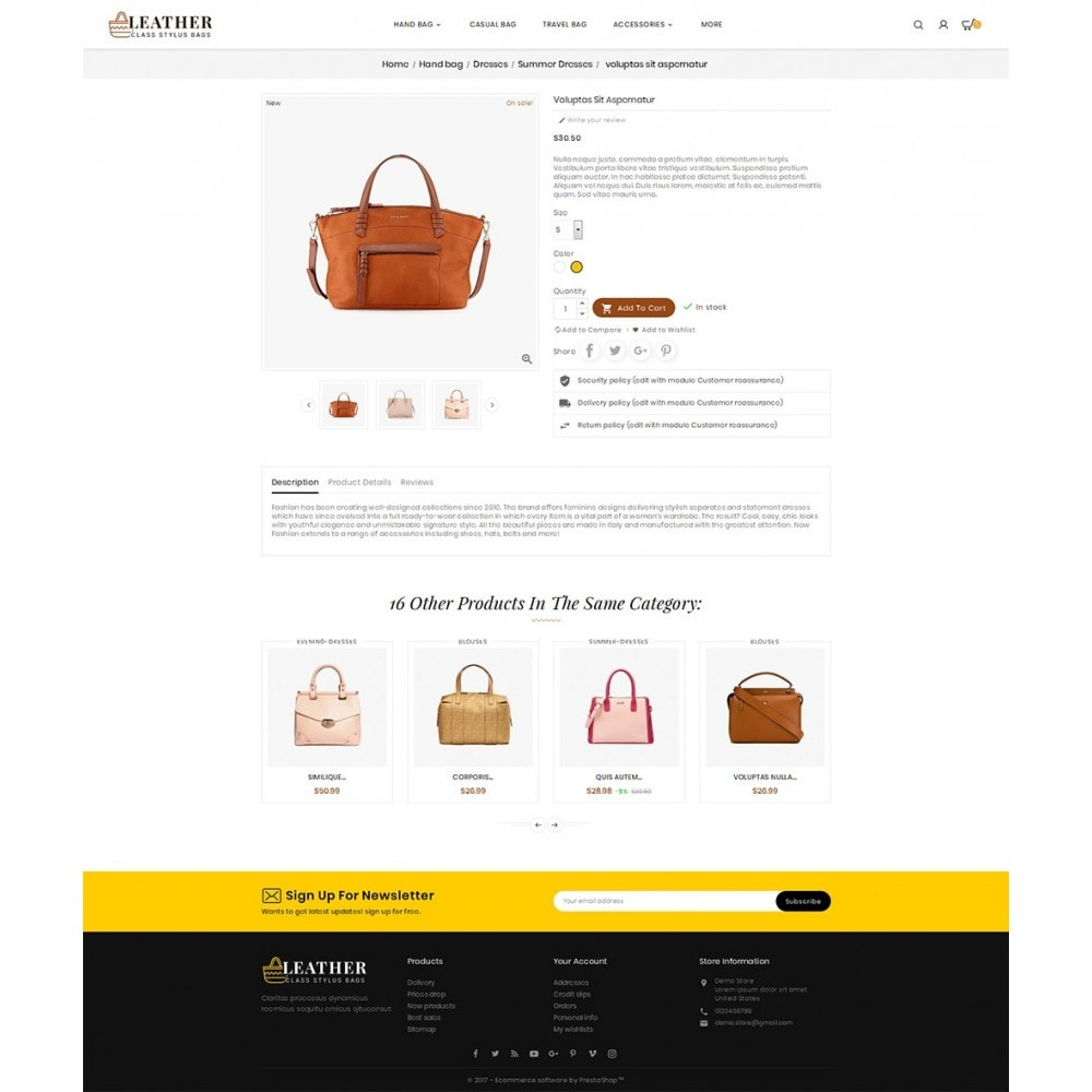 theme - Mode & Schuhe - Leather Bag Crafts - 6