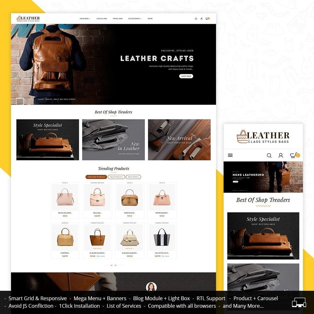 theme - Moda & Calzature - Leather Bag Crafts - 2