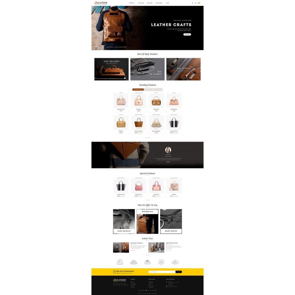 theme - Moda & Calzature - Leather Bag Crafts - 3