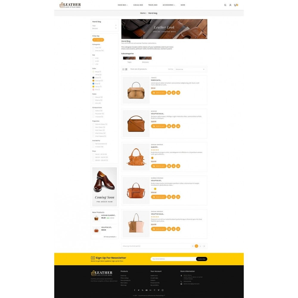theme - Moda & Calzature - Leather Bag Crafts - 5