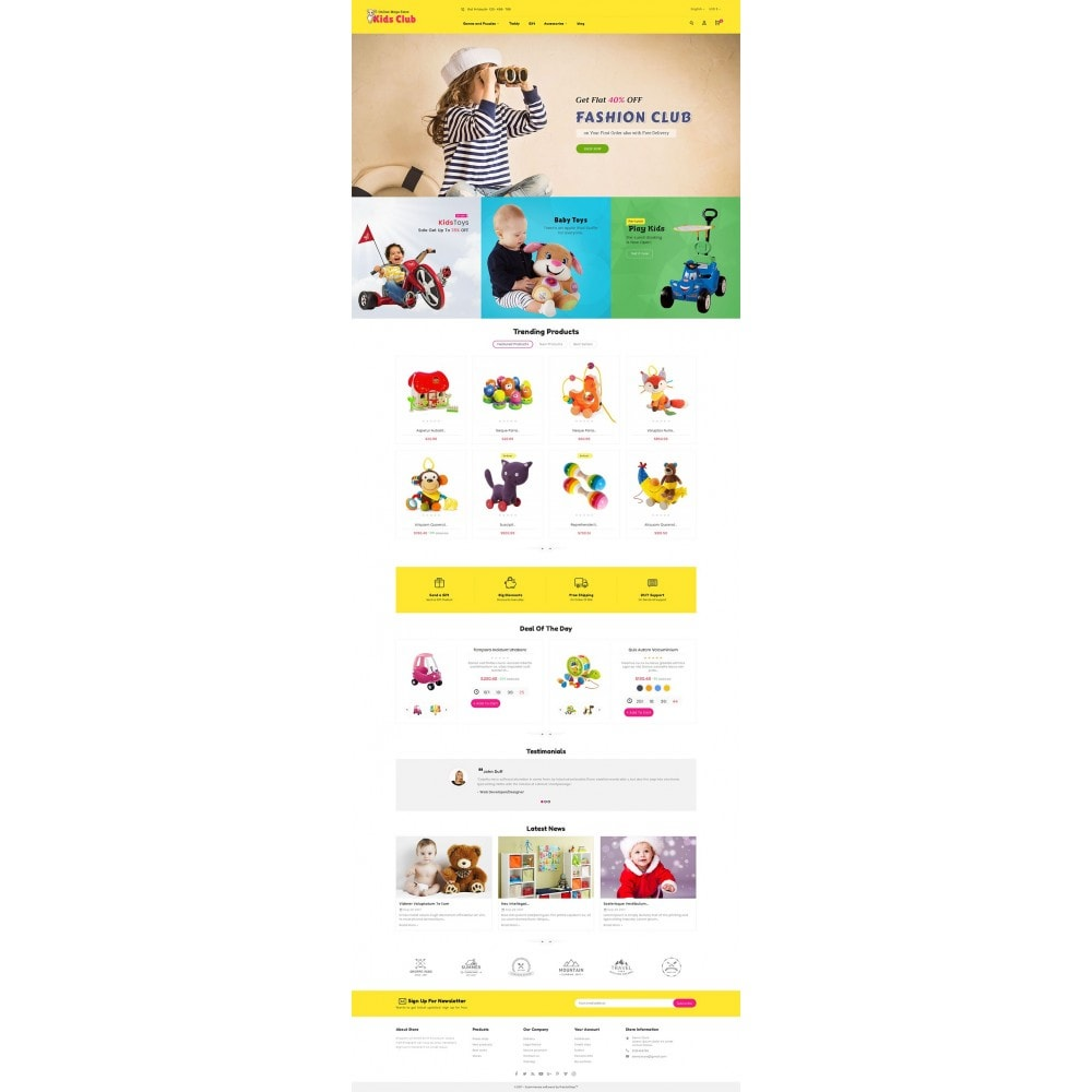 theme - Enfants & Jouets - Kids Toy Club - 3