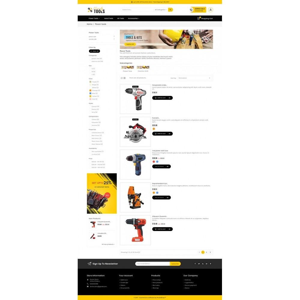 theme - Electrónica e High Tech - Handy Tools Store - 5