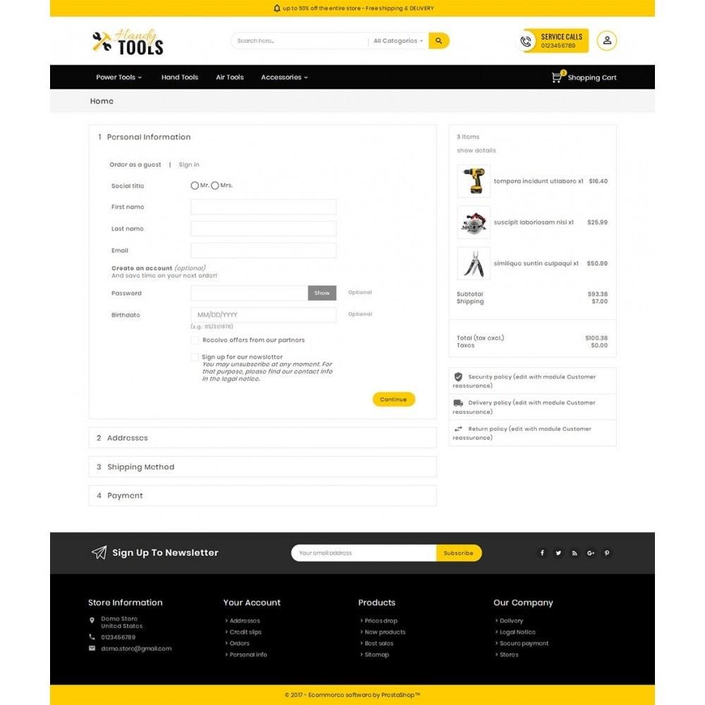 theme - Electrónica e High Tech - Handy Tools Store - 8