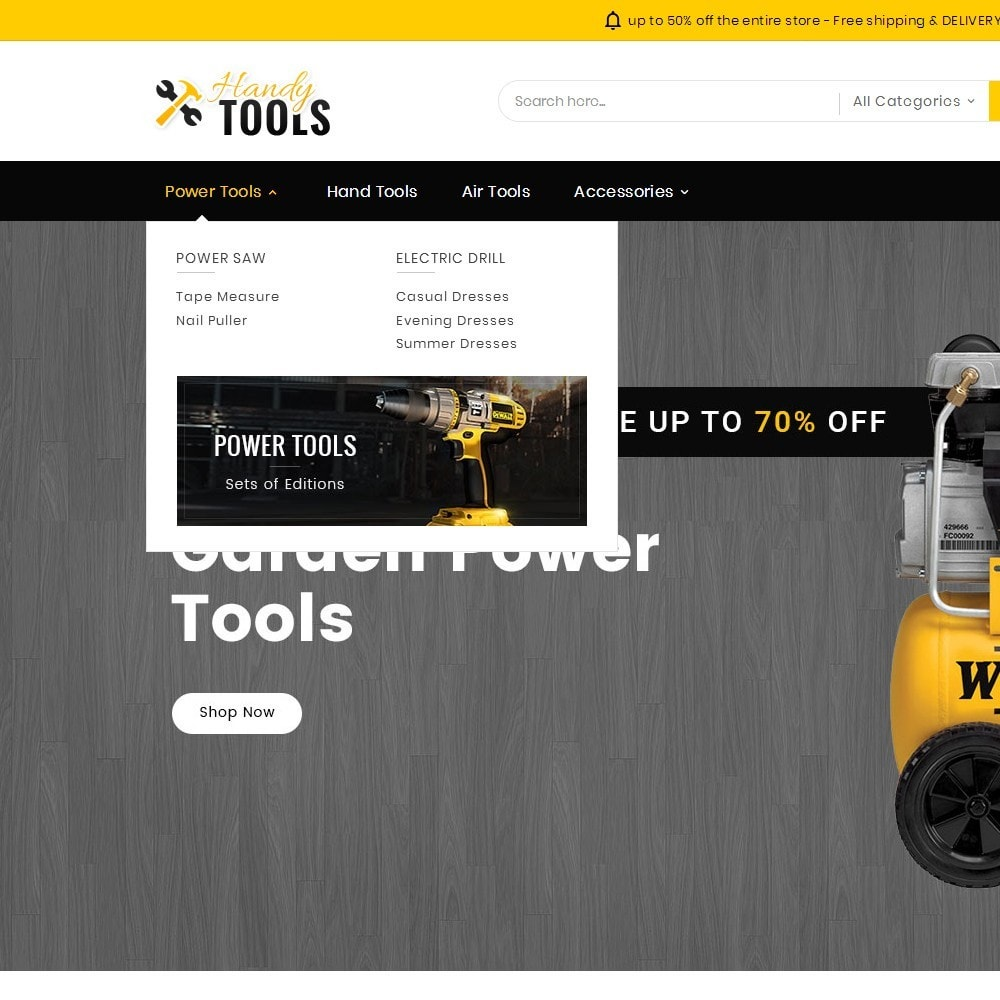 theme - Electrónica e High Tech - Handy Tools Store - 10