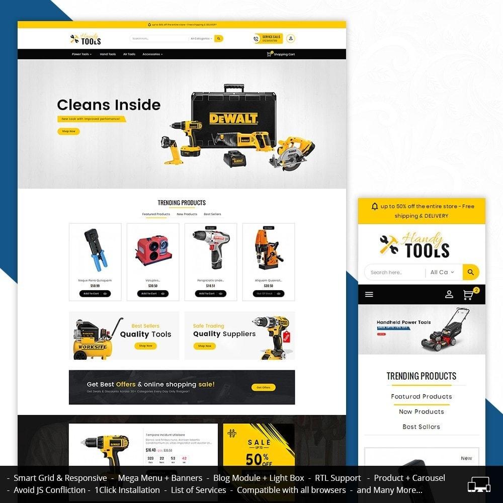 theme - Elektronik & High Tech - Handy Tools Store - 2