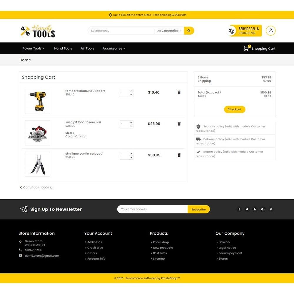 theme - Elektronik & High Tech - Handy Tools Store - 7