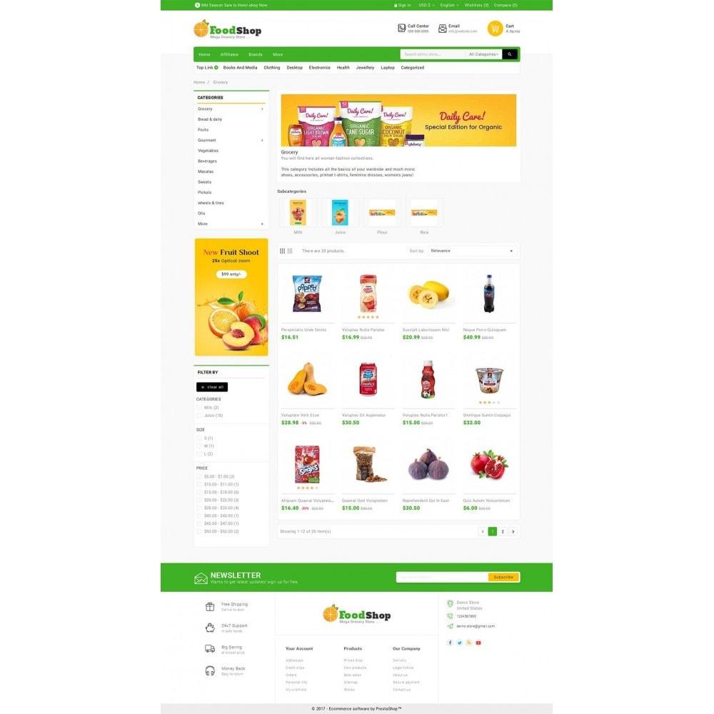 theme - Alimentation & Restauration - Grocery Food Mega Store - 4