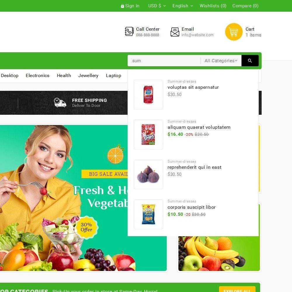 theme - Cibo & Ristorazione - Grocery Food Mega Store - 11