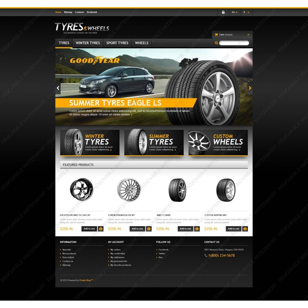 theme - Coches y Motos - Tyres & Wheels Store - 5