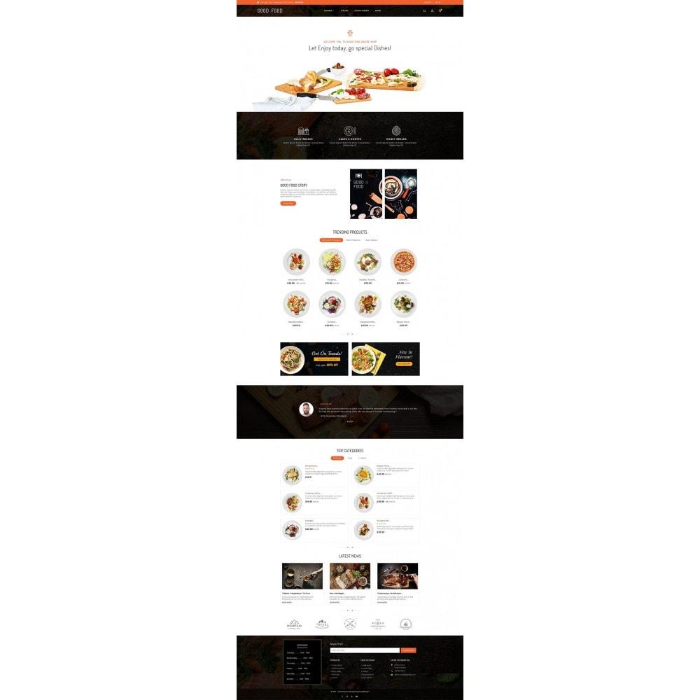 theme - Alimentation & Restauration - Good Gusto Food - 3