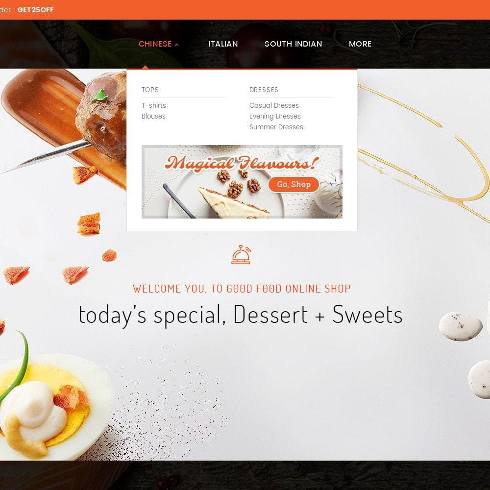 theme - Alimentation & Restauration - Good Gusto Food - 10