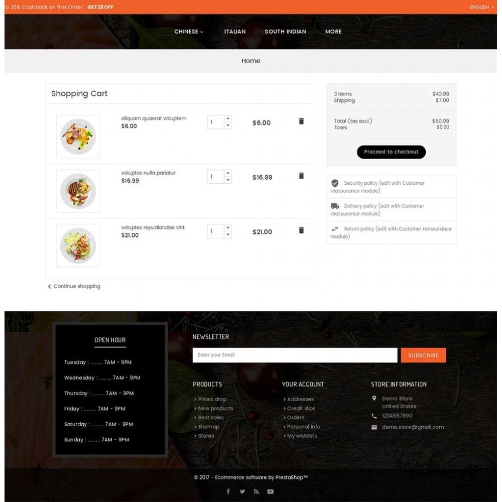 theme - Lebensmittel & Restaurants - Good Gusto Food - 7