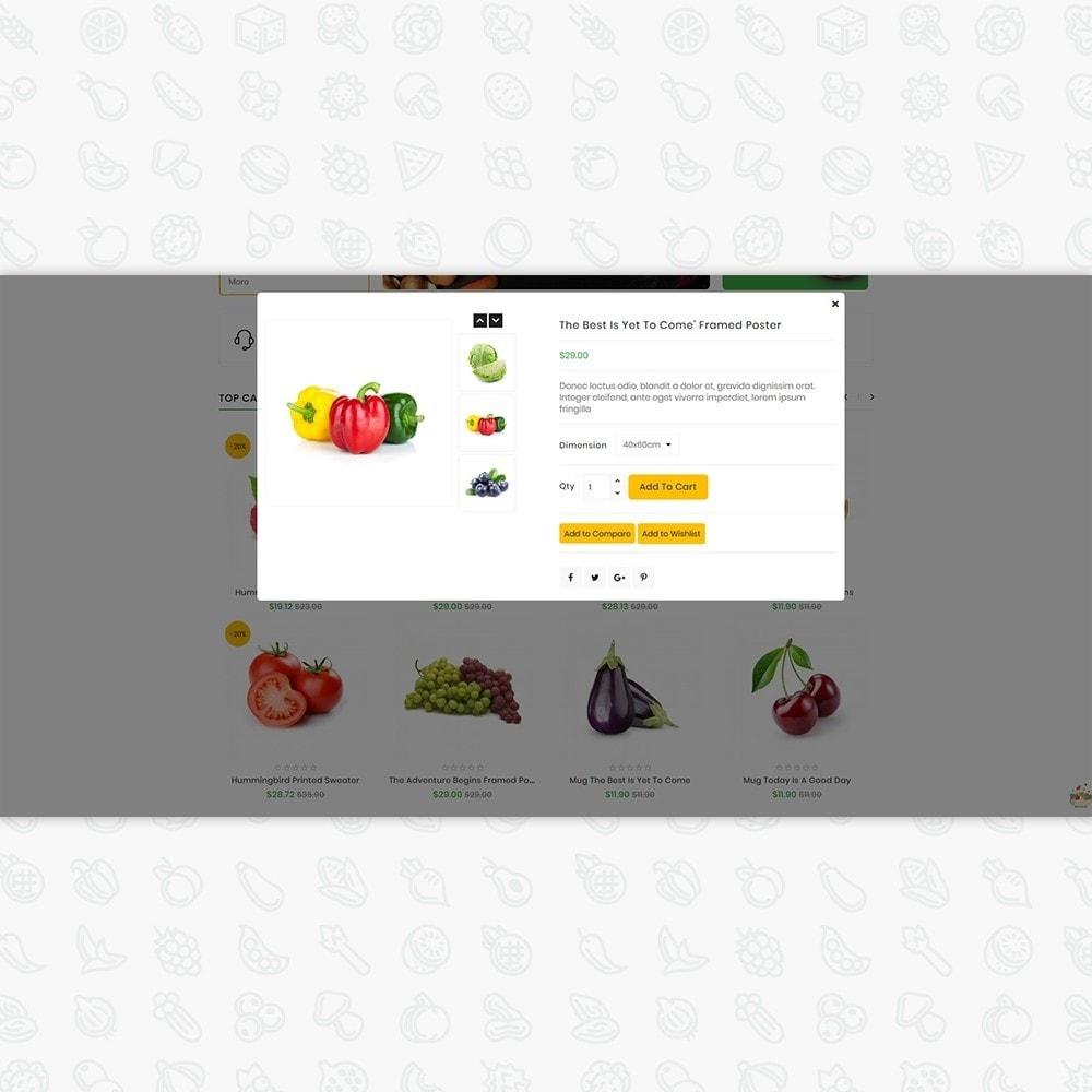 theme - Gastronomía y Restauración - Organic Food - The Food - 6