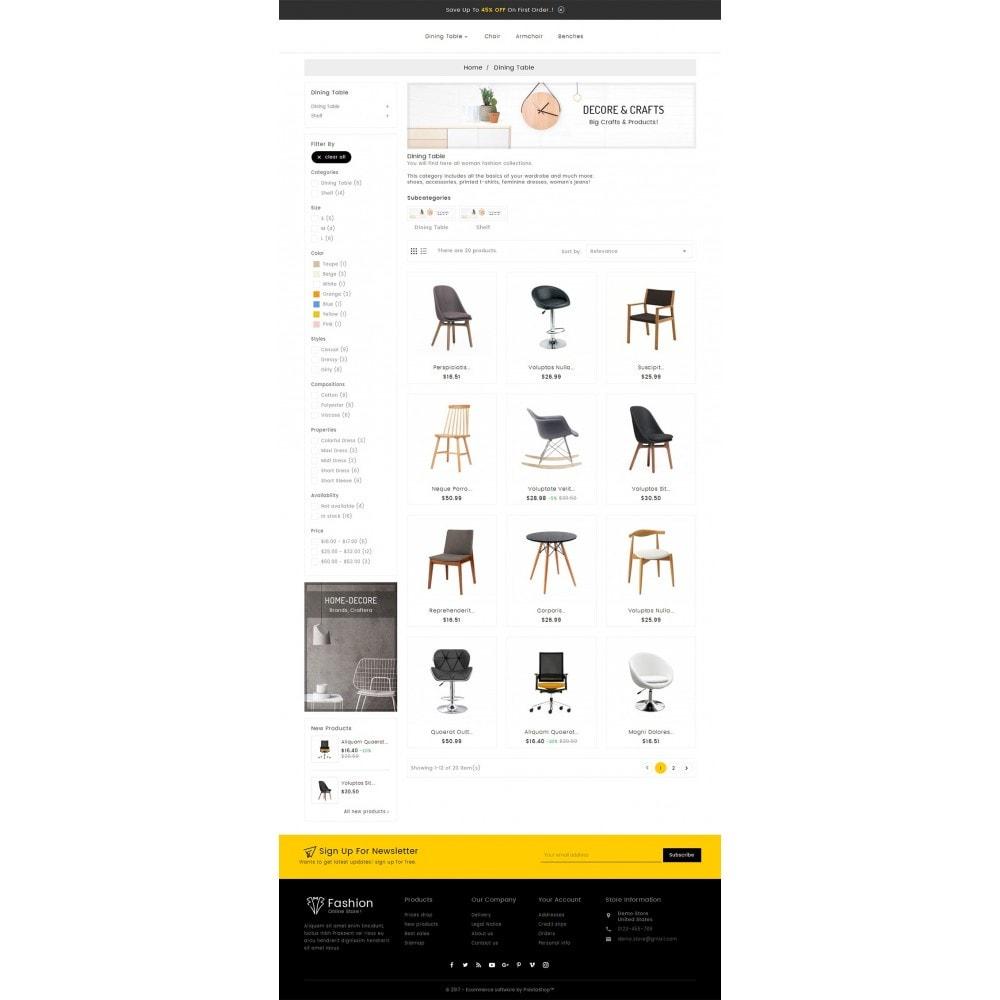 theme - Casa & Giardino - Craft Furniture Store - 4